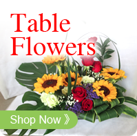 Table Flowers & Live Plants
