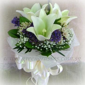 WB08542(Bridal)-ROM-Wedding-3 Wh Lily