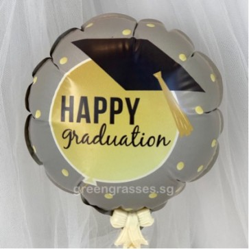 AL00515-14cm Graduation Balloon