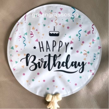AL00518-14cm Happy Birthday Balloon