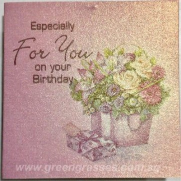 AT001055 Birthday Card