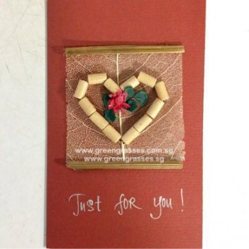 AT00253 Just for you Card