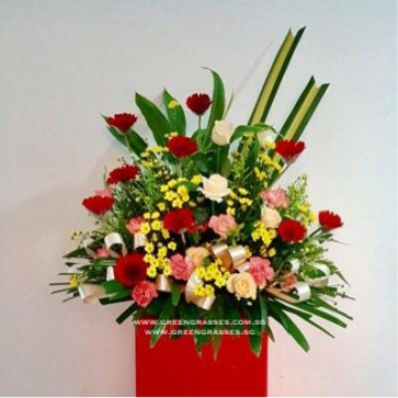 CY08511 Opening Floral Stand