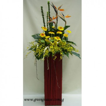 CY10005 Opening Floral Stand