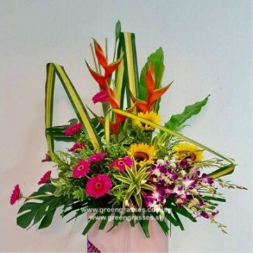 CY12039 Opening Floral Stand