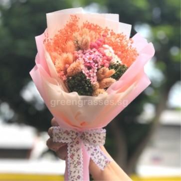 HBD050451-Dried Floral Bouquet