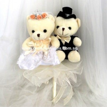 WB06512-ROM-Couple Bear-(Bridal)(Wedding)