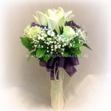 WB10608-ROM-3 Wh Lily