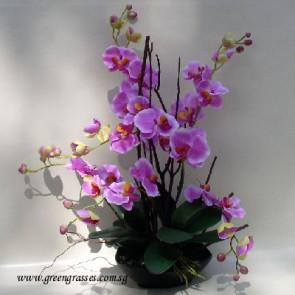 AF08540-Artificial Orchids Arrangement