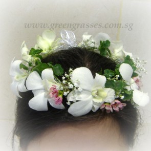 CH04012-Flower Girl Headdress