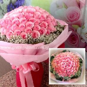 GHB26309-LGRW-99 Pk Rose