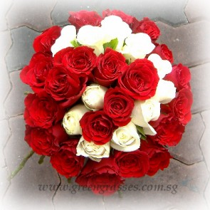 SHB15021D-Spiral-Shaped-36-Wh+Red Rose