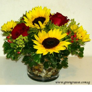 TF10033-Table Flower