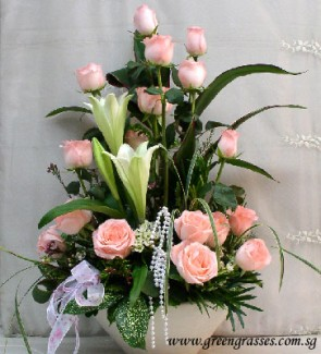 TF12505-Table Flower
