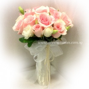 WB12535D-ROM-20 Pk Rose w/Eustoma