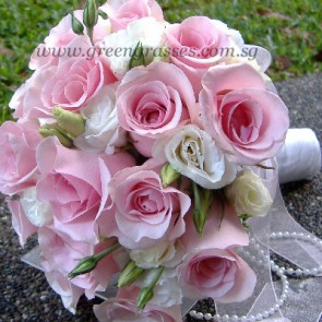 WB11918D-ROM-16 Pk Rose w/Eustoma
