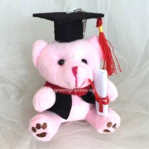 "AB006906-4"" Pink Graduate Bear"