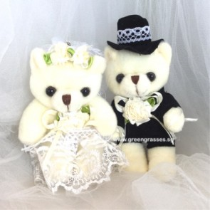 "AB009503-6"" Wedding Couple Bear"