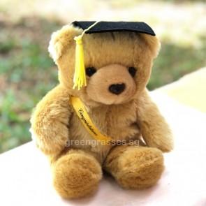 "AB0199013-8"" Sitting Graduate He-Bear"