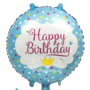 "AL01216-18"" Helium Birthday Balloon"