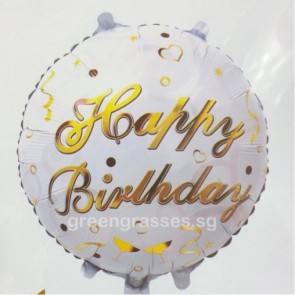 "AL01217-18"" Helium Birthday Balloon"