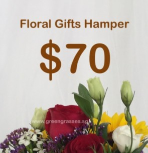 FG070098 Floral Gifts Hamper