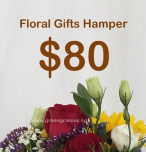 FG080098 Floral Gifts Hamper