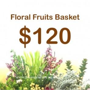 FG120099 Floral Fruits Basket