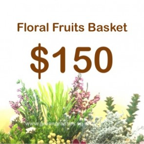 FG150099 Floral Fruits Basket