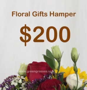 FG200098 Floral Gifts Hamper