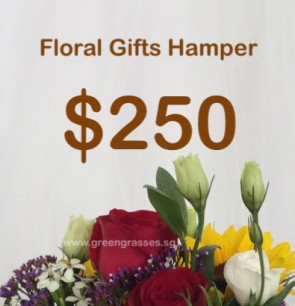 FG250098 Floral Gifts Hamper