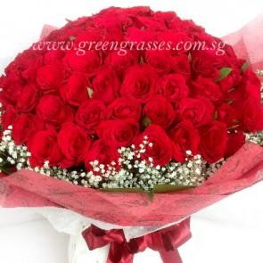 GHB28015-LGRW-99 Red Rose