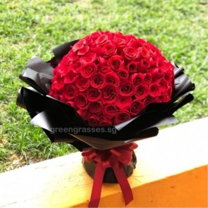 GHB36011-Self Collect-LGRW-128 Red Roses