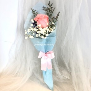 HB03529-SW-1 Pk RoseHand Bouquet