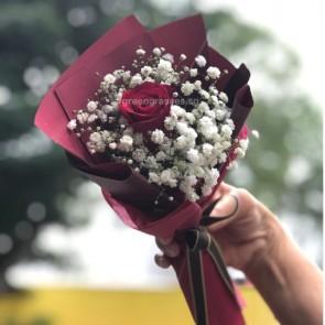 HB03579-SW-1 Red Rose