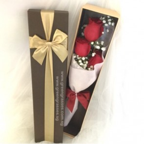 HB05088-BBOX-3 Red Rose+BB