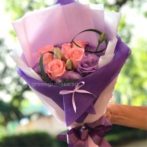 HB06584-GLSW-6 Pk Roses