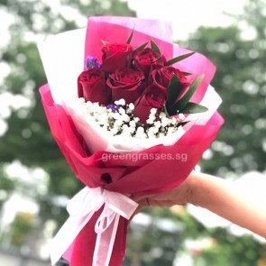 HB06592-6 Red Rose