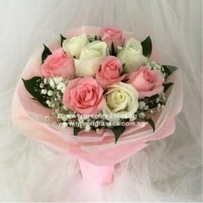 HB07410--LGRW-9 Rose(Pk+Wh)