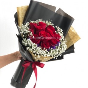 HB08560-LSW-12 Red Rose
