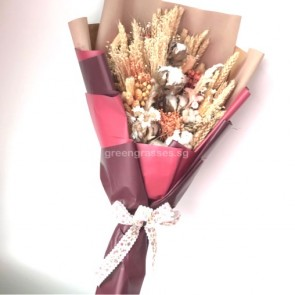 HBD09083-Dried Floral Bouquet