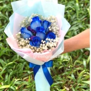 SCHB08054-Self Collect-GLSW-6 Ecuador Blue Rose