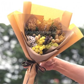 SCHBD03069-Self Collect-Dried Floral Bouquet