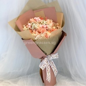 SCHBD05073-Self Collect-Dried Floral Bouquet