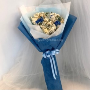 SCHBD05077-Self Collect-Dried Floral Bouquet