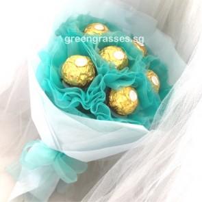 SCSR03062-Self Collect-PRW-6 Ferrero Rocher Chocolates-Turquoise
