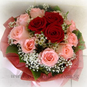 SCV11530-Self Collect-LLGRW-12 Rose(3Red+9Pk)