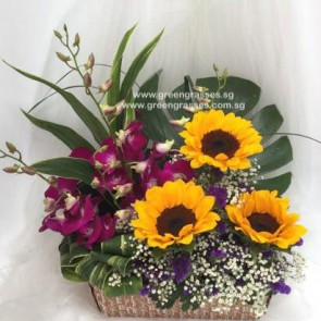 TF07502 Table Floral Arrangement