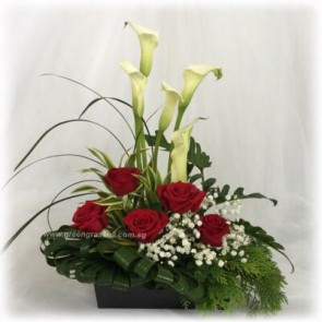 TF11529D-Table Flower