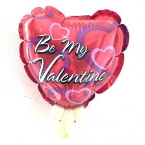 VAL00522-9cm Heart Shape Balloon